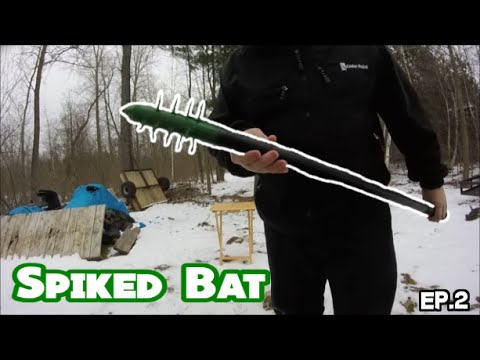 Homemade Spiked Bat With Screws (Episode 2)