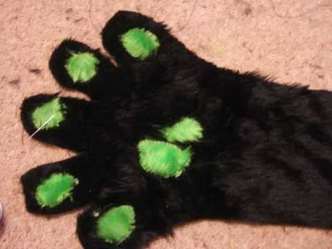 HOW TO make fursuit paws