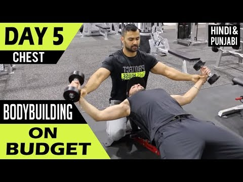 Complete CHEST WORKOUT for Beginners! (Hindi / Punjabi)