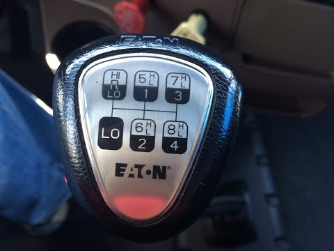 How to Shift 13 speed Tractor Trailer Transmission