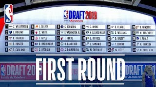 EVERY PICK from the First Round   2019 NBA Draft
