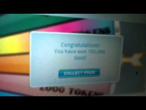 100,000 gold spin to win real this time