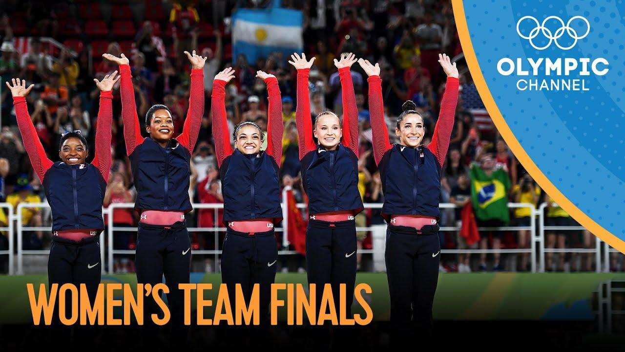 Artistic Gymnastics Women's Team Final | Rio 2016 Replays