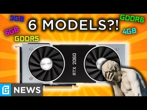 RTX 2060 Comes In 6 Variants?!