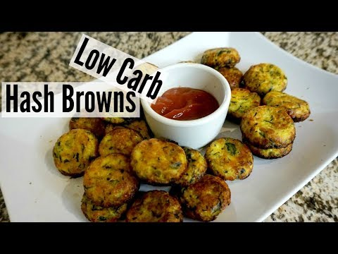 Low Carb Tater Tots Recipe | Healthy Hash Browns | Keila Keto