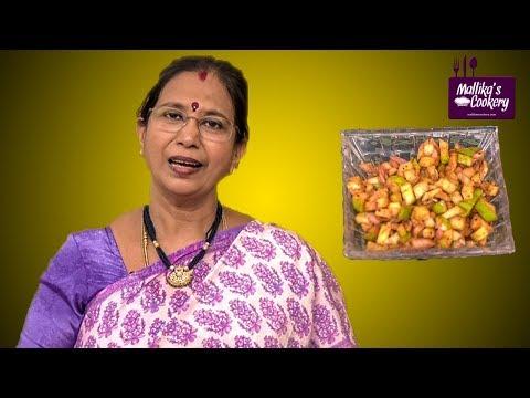 INSTANT MANGO PICKLE : Mallika Badrinath Recipe | South Indian Recipe