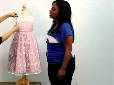 Mygirldresscom How To Measure Your Child For Flower Girl Dress