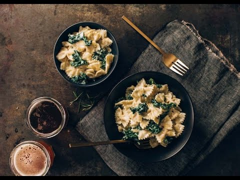 Alpine Cheddar and Kale Stovetop Macaroni & Cheese