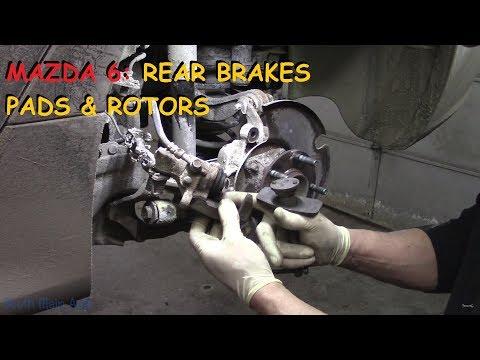 Mazda 6 Rear Brake Pads & Rotors