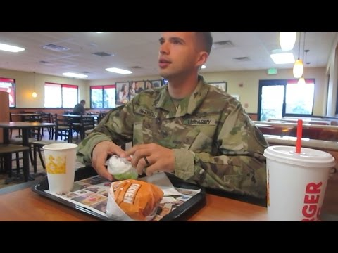 Eating Alongside With Army Recruiters & Taking The ASVAB (Vlog #27)