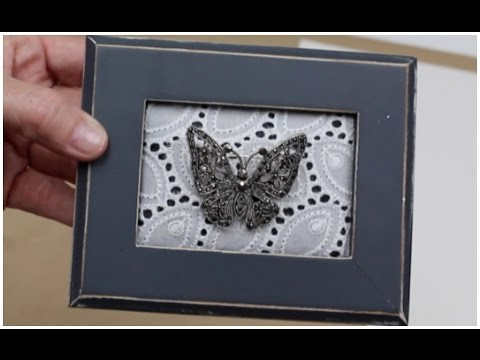 Easy Mother's Day DIY Gift: Heirloom Display