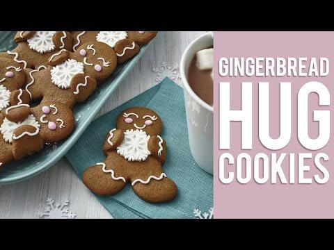 How to Make Gingerbread Hug Cookies