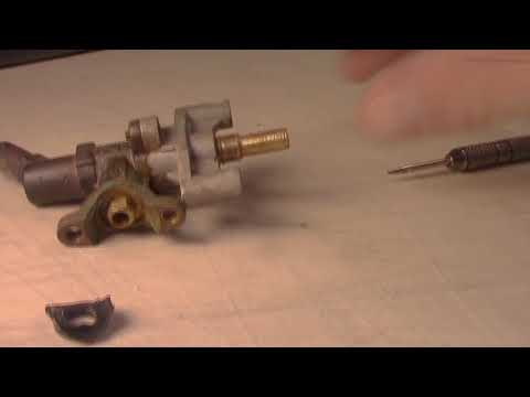 Fix BBQ Grill Gas Leak With Control Valve Gasket Repair Replacement