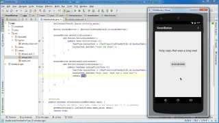 Android App Development for Beginners - 17 - GridLayout - PakVim net