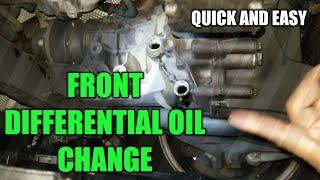 Mercedes w203 differential fluid change - PakVim net HD