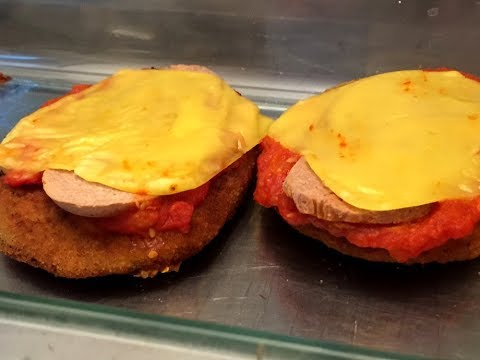 Filetes veganos de legumbres. Proteína vegetal