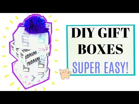Easy DIY Gift Box Tutorial   Eid Special   How to make an Origami Box
