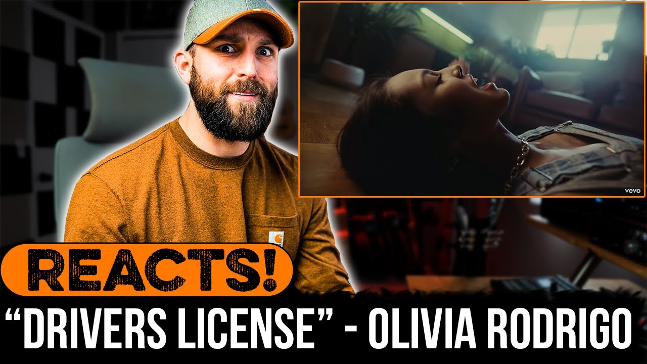 MUSICIAN REACTS to Olivia Rodrigo - drivers license