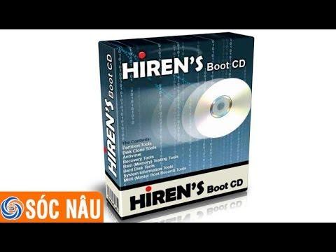 Hướng dẫn tạo đĩa hiren boot CD 15.2 miễn phí