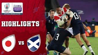 Japan 28-21 Scotland | Rugby World Cup 2019 Match Highlights