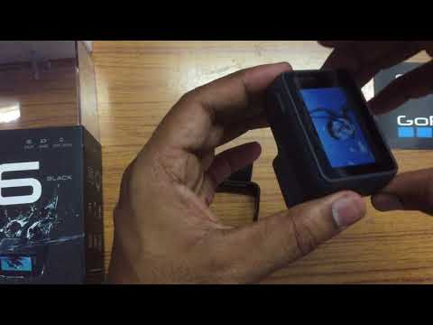 How to put Battery in Go Pro Hero 6