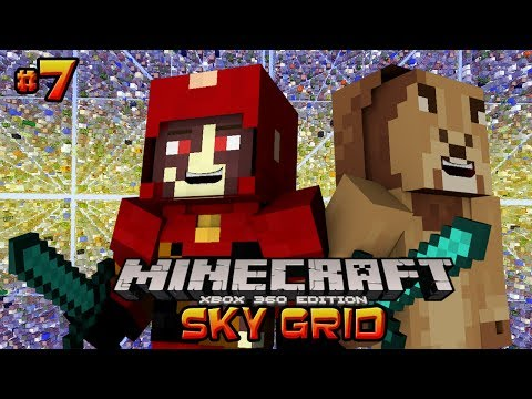 Minecraft Xbox - Sky Grid {7}