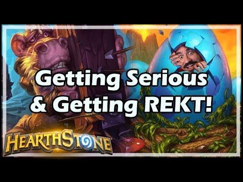 [Hearthstone] Getting Serious & Getting REKT!