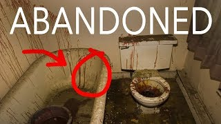 BLOODY MESS in ABANDONED HIGH SCHOOL!! *Warning!*