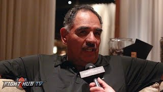 """ABEL SANCHEZ """"THEY BOOED HIM! CANELO TALKED SO MUCH SHIT..SEEMS LIKE HE RAN HALF THE FIGHT"""""""