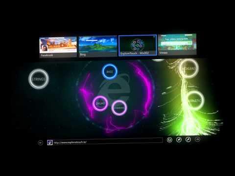 Explore Touch | Internet Explorer UK TV Advert (30 Seconds)