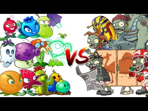 Plants vs Zombies 2 Mod Every Electric Plants Power UP vs Hard Level Zombies in PVZ 2 Primal Game