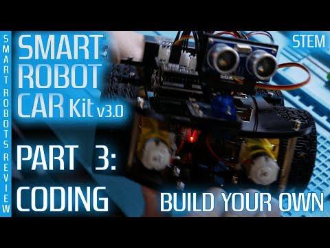 Smart Robot Car - Build your own - Part 3 - Arduino - Elegoo UNO R3 EL-KIT-012 - Smart Robots Review