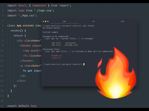 Enhance your Web Development environment | Terminal | HyperJS | VS Code | Themes
