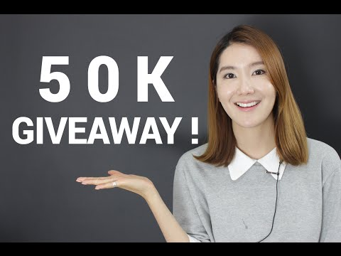 [Giveaway] We Have Got Over 50K Subscribers Now! | Wishtrend