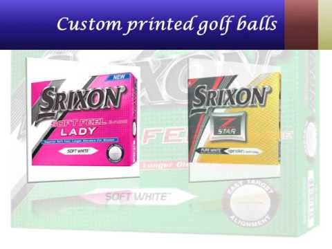 Custom logo golf balls USA