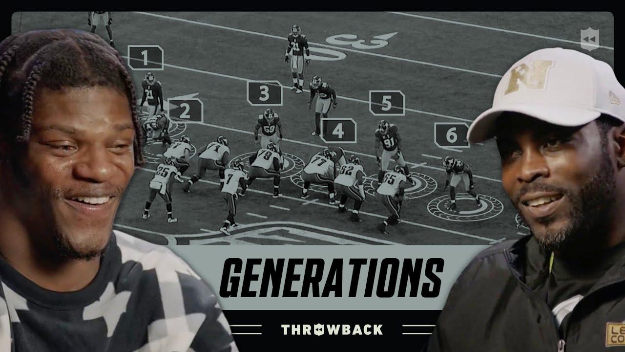 Lamar Jackson & Michael Vick Are Athletic FREAKS | NFL Generations