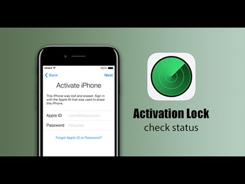 How check iCloud Activation Lock status by IMEI or serial