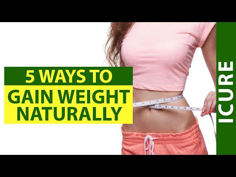 How to Gain Weight Naturally | 5 ways to gain weight (Hindi)