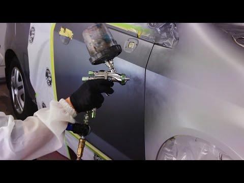 Bumper / Fender Replacement Paint Job