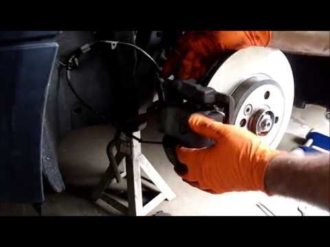 Replacing brake pads and rotors on a 2010 Mini-Cooper