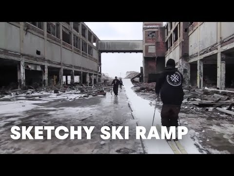 Building the sketchiest ski ramp of all time - Tracing Skylines Movie Segment