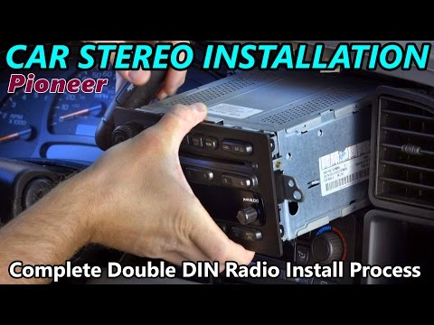Full Double DIN Car Stereo Installation -  Retain Steering Wheel Control, Onstar