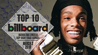 Top 10 • US Bubbling Under Hip-Hop/R&B Songs • March 2, 2019 | Billboard-Charts