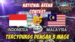 WAW !!! 3 Mage Bikin Malaysia Gigit Jari Indonesia vs Malaysia National Arena Contest 30092017