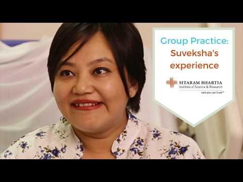 Group Practice: Suveksha's experience