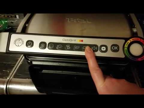 T-fal Countertop Electric Grill Instructional Review