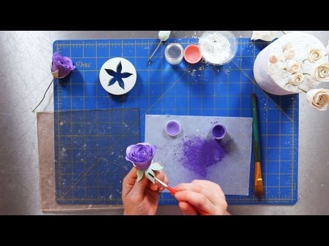 How to Paint a Rose | Sugar Flowers