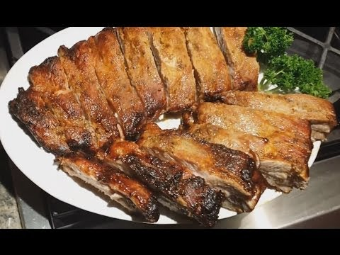 Oven Roasted Pork Ribs | Oven Baked Pork Ribs Recipe