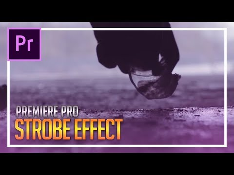 How To Create a Strobe Effect in Adobe Premiere Pro CC 2018