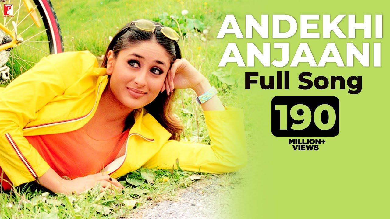 Andekhi Anjaani | Full Song | Mujhse Dosti Karoge | Hrithik Roshan, Kareena Kapoor, Rani Mukerji